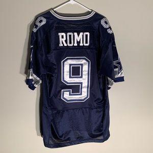 Nike authentic Tony Romo Cowboys jersey size L